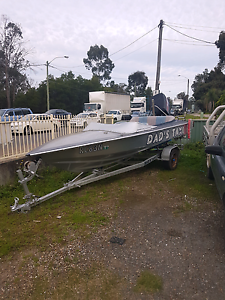 130HP speed boat + trailer 1YR rego Liverpool Liverpool Area Preview