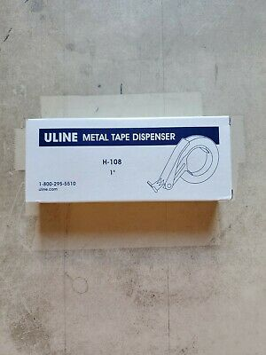 Uline 1 Metal Tape Dispenser H-108 Nib