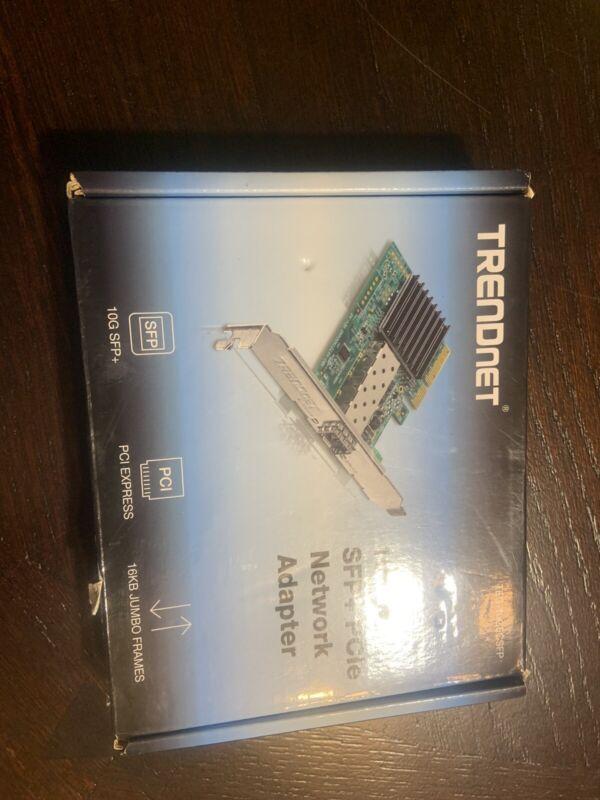 TRENDnet 10 Gigabit PCIe SFP+ Network Adapter, TEG-10GECSFP, Convert a PCIe S...