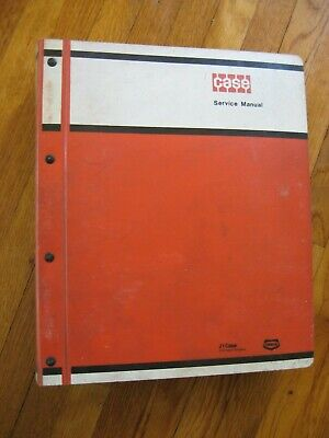 Case 450 Crawler Tractor Bulldozer Service Repair Manual Original Backhoe Blade
