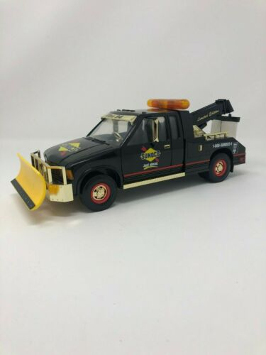 1996 Sunoco Collectible Tow Truck Snow Plow Gold Limited Edition, Sealed NIB