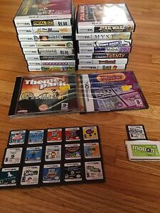 Tons of DS games!!!!!  40 + games