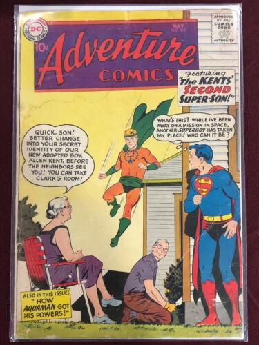 ADVENTURE COMICS 260 Professionally Graded GD 2.0 Superman