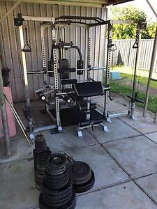 Home gym power cage rack East Maitland Maitland Area Preview