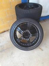 wheels rims tyres 22inch for nissan or toyota Parap Darwin City Preview