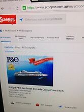 P&O  3 night comedy cruise from Freo for 4 people Tapping Wanneroo Area Preview
