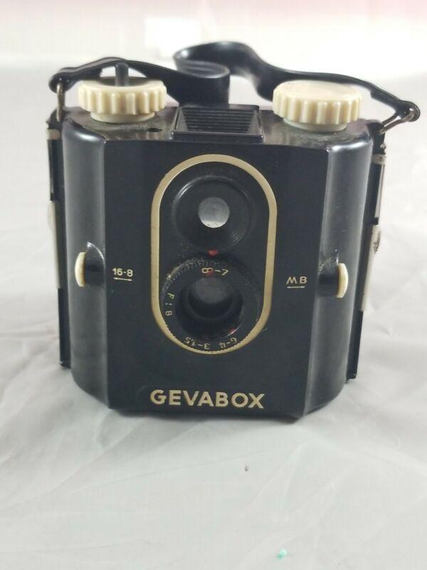 Vintage GEVAERT GEVABOX 6x6 120mm Box Film Camera