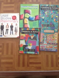 Commerce and Legal Studies Text books Coogee Eastern Suburbs Preview