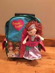 Groovy girls back pack and princess doll
