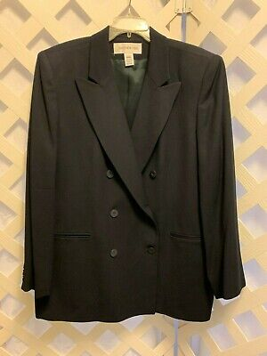 JONES NEW YORK * Classic wool blazer, USA made * Sz 18W Beautiful! Classic Wool Blazer