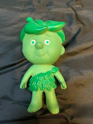 Vintage Jolly Green Giant Little Sprout Toy Doll Plastic 6.25 inch Tall D18