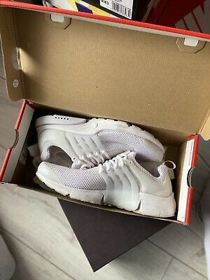 Nike Presto Fly WRLD SU19 Men's trainers BQ8638-100 White Size UK 9 EU 44 US 10