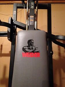 Weider 8530 Complete gym for sale