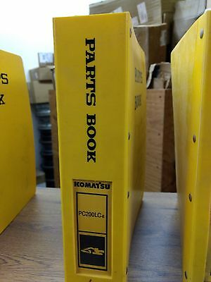 Komatsu Pc200lc-6 Excavator Parts Catalog