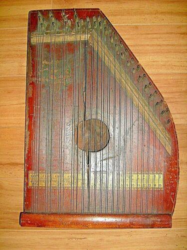 Antique Auto Harp - Chartola Grand - Chartola Company