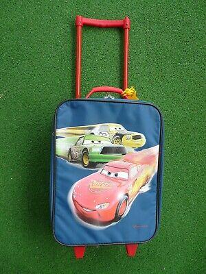 Kinderkoffer mit Rollen Kindertrolley Motiv Cars Lightning McQueen blau gebraucht kaufen  Herrenberg