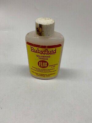 Rubyfluid 38120 Liquid Flux For Soldering 2-ounce Bottle