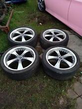 Set of 4 18 inch Commodore wheels Parramatta Parramatta Area Preview