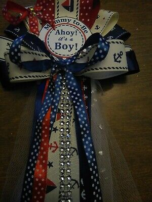 Baby Shower Sailor Theme ( Mommy to be Nautical Ocean Sailor  Theme baby shower )