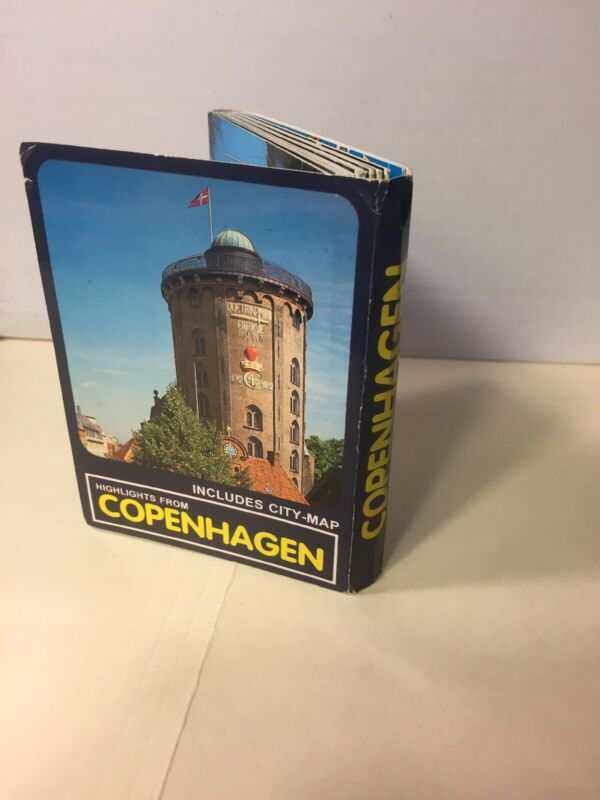 Highlights From Copenhagen Tourist Information & City Map Gronlund