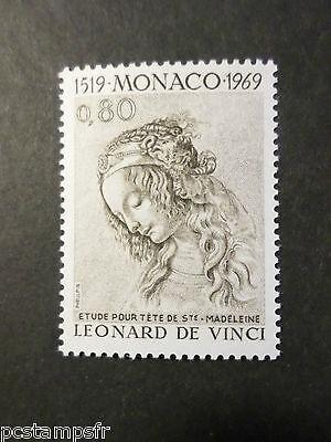 Monaco 1969,Francobollo 802,Leonard di Vinci Quadro Sainte Madeleine Nuovo MNH, usado comprar usado  Enviando para Brazil