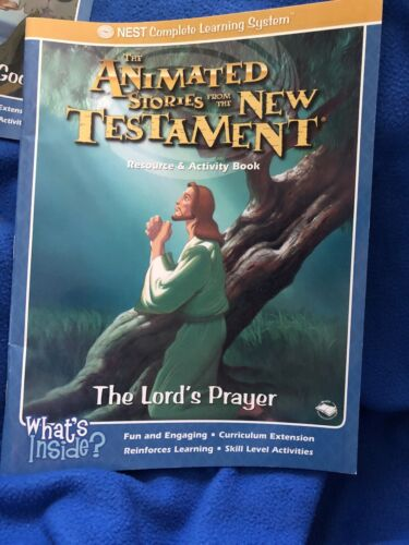 The Lord s Prayer Resource And Activity Book Animated Stories From The New Testa - $1.25