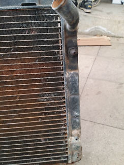 Valiant coupe ve vf vg radiator and surround