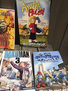 Various books for 9-12 year olds