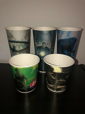 Jurassic World Dairy Queen Unused Large/Small Blizzard Cups Set