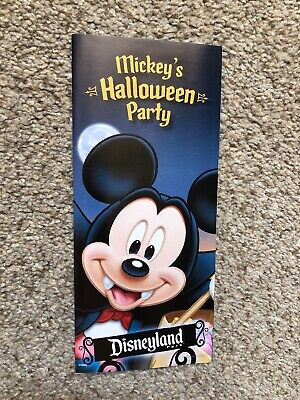 Disneyland Park Mickey Halloween Party Guide Map](Map Halloween)