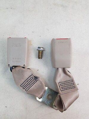 LEXUS IS200 XE10 MK1 98-05 SE REAR CENTRE & LEFT TWIN SEAT BELT BUCKLE C033402