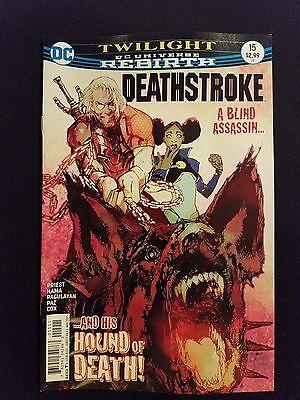 DC Universe Rebirth Deathstroke # 15 (1st Print)
