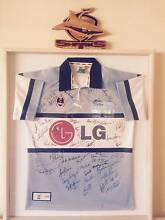 Framed Cronulla Sharks Jersey Hawks Nest Great Lakes Area Preview