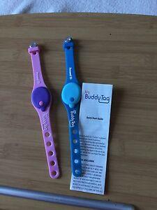Child safety device - BuddyTag x2