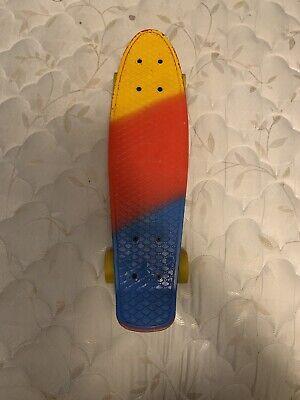 """Rimable 22"""" Retro Mini Cruiser Skateboard Penny Style Graphic Board"""
