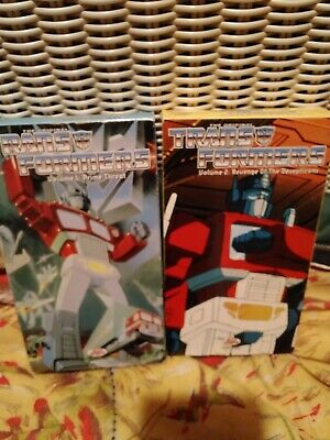 Transformers -   VHS lot