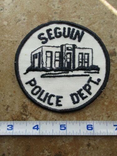 OBSOLETE Vintage State of Texas Seguin Police Department Shoulder Patch