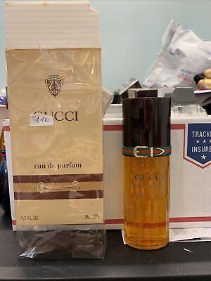 Gucci Eau de Parfum 1974 Vintage Original 125ml 4.2Oz Spray Women Classic Woman