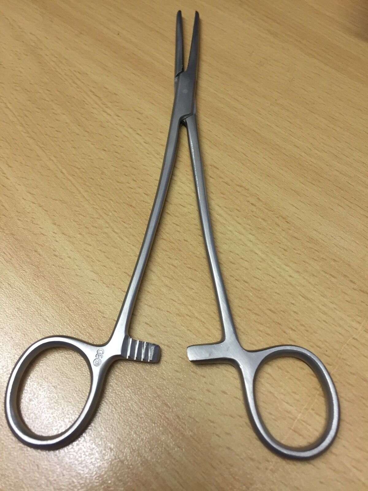 stainless steel 5.5 straight ended forceps carp//coarse fishing