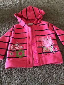 eff932073c6d Baby Girl Size 0 Peppa Pig Jacket with pants GUC