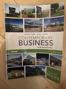 Contemporary Business Textbook