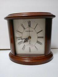 Howard Miller Shelf Mantle Desk Clock 630-156 Atomic Radio Controlled 7 x 8