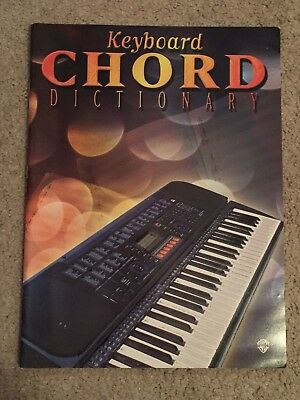 Keyboard Chord Dictionary Music Book by Warner Brothers Chord Dictionary Music Book