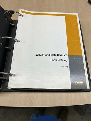 Case 570lxt And 580l Series 2 Parts Catalog Bur 7-3342