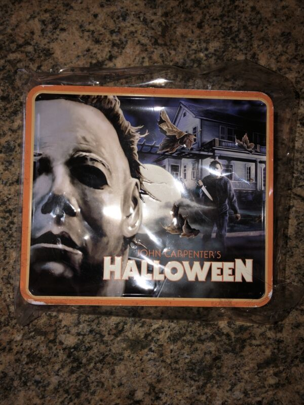 Fright Rags Michael Myers Halloween Limited Metal Lunchbox & Thermos *in Hand*