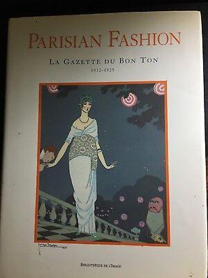 Parisian Fashion: La Gazette Du Bon Ton 1912-1925