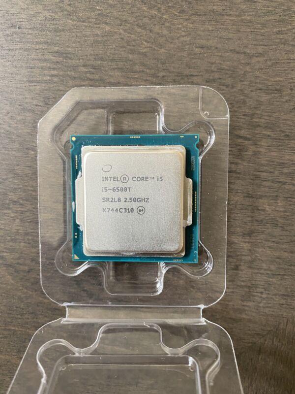 Intel Core i5-6500T - 2.5 GHz Quad-Core (CM8066201920600) Processor