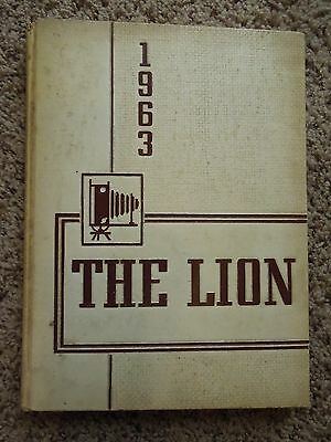 Vintage 1963 Red Lion Area Senior High School Yearbook