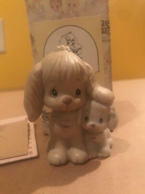 Precious Moments Puppy Love Figurine 520764 1988