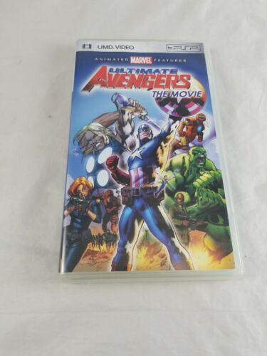 MARVEL'S Ultimate Avengers: The Movie (UMD, 2006) SONY PSP Tested Working